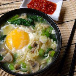 Quick Ramen Bowl Recipe Recipes Cooking Recipes Soup Recipes