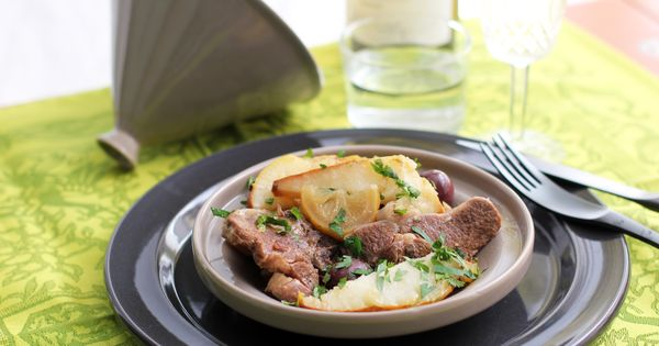 Lamb Tajine with Pears | Lamb, Pears and Chard Recipes