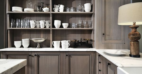 grey stained kitchen cabinets for the home pinterest