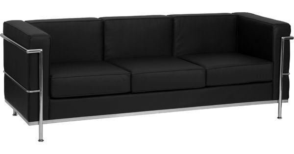 Flash Furniture Zb Regal 810 3 Sofa Bk Gg Hercules Regal Black