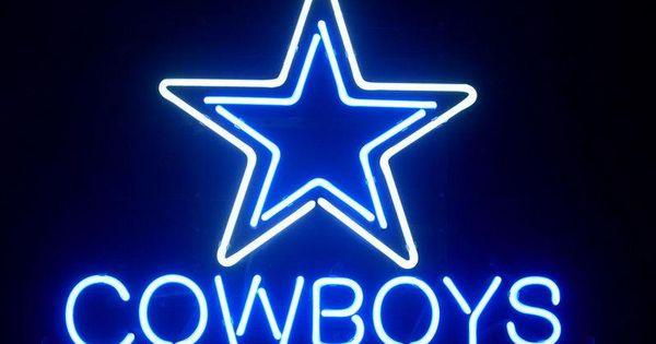 Dallas Cowboys Neon Light Beer Sign