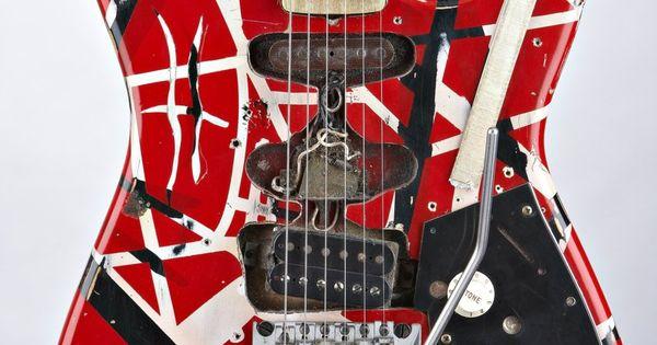 Homemade Van Halen Frankenstein 73