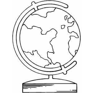 Earth Globe Coloring Sheet Book Quilt Free Coloring Sheets Earth Globe