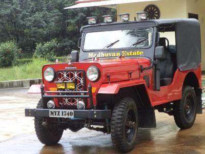 My Dad S Red Mahindra Jeep Mahindra Jeep Jeep Willys Jeep