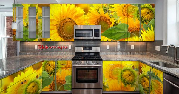 Cabinetry Wraps Kitchen Cabinets Wrapped Kitchen Cabinet Remodel Kitchen Cabinet Colors