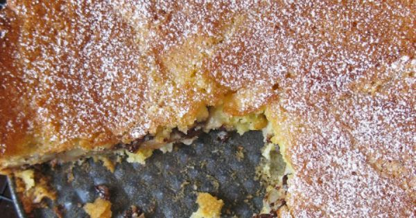 ... pear-and-bittersweet-chocolate-cake.html | Dessert~Cake | Pinterest