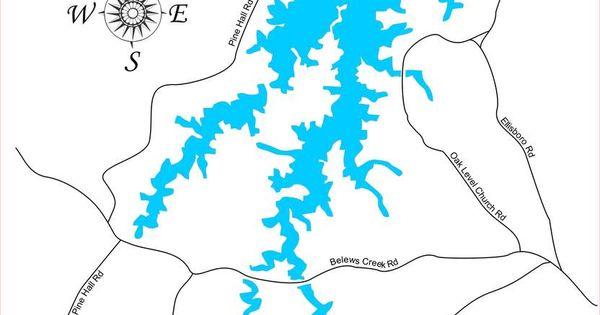 belews creek lake map Pin On Belews Lake North Carolina belews creek lake map
