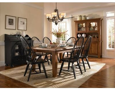 Broyhill Attic Heirlooms 7 Piece Extendable Dining Set With Images Dining Room Furniture Sets Broyhill Furniture Dining Room Remodel