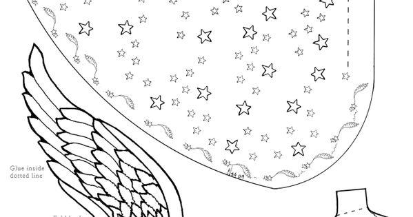 como fazer anjos cone e outros anjos de natal