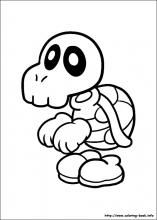 Super Mario Bros Coloring Pages On Coloring Book Info Mario Coloring Pages Super Mario Coloring Pages Coloring Pages