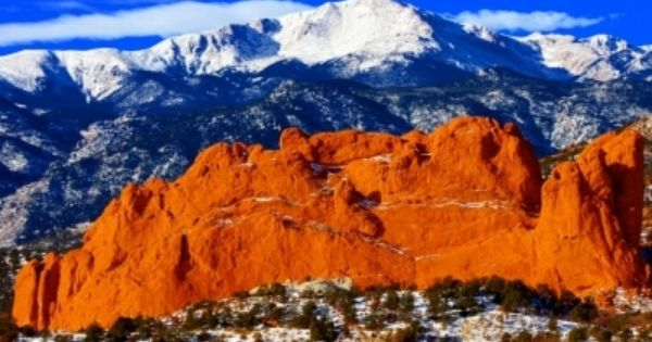 Gorgeous Place Garden of the Gods in Colorado Springs, Colorado