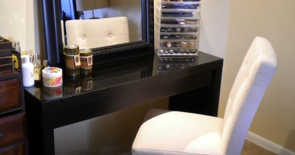makeup storage for bedroom vanity prep pinterest