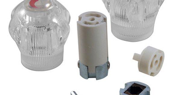 Universal Large Acrylic Handle Faucet Handles Faucet Tub Shower Faucets