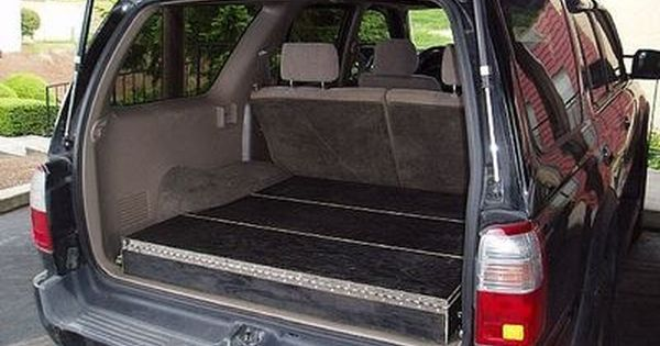 How To Build Low Profile Storage Boxes In Your Suv Suv Storage