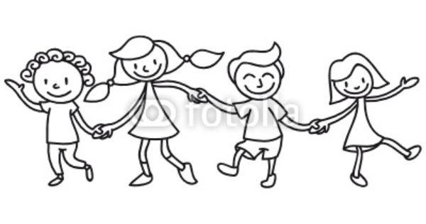 Kinder Freundschaft Ausmalbild Ausmalen Ausmalbilder Ausmalbilder Kinder