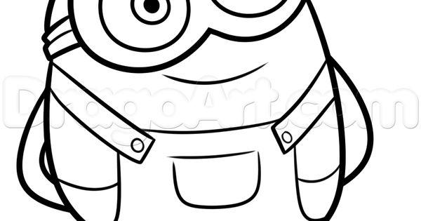 Minion Carl Drawing