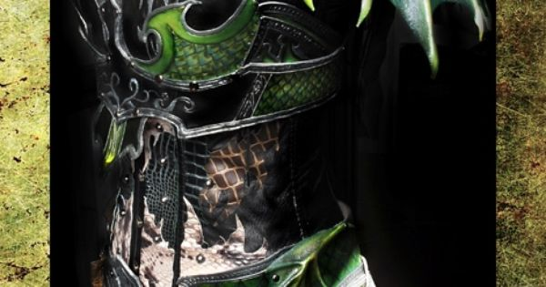 Druchii Female Armor by ~Deakath on deviantart I love this! Very Loki-esque,