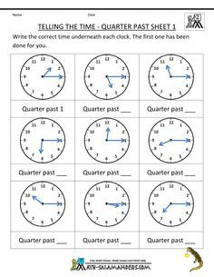Telling Time Worksheets Year 3 Quarter Past Google Search Telling Time Worksheets Clock Worksheets Time Worksheets Math worksheets time grade 2