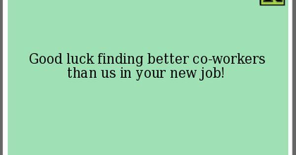 Bye Bye Friend at Work! | I am thinking... | Pinterest ...