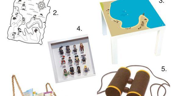 piraten kinderzimmer ideen vom spieltisch bis zur. Black Bedroom Furniture Sets. Home Design Ideas