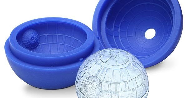 Buy Now! Star Wars Death Star Ice Cube Tray.