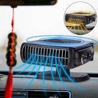 2 In 1 12v 150w Car Heater Cooling Fan Windscreen Demister