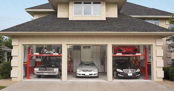 Dream Garage Double Decker Car Storage Garage Design Dream Garage Car Garage