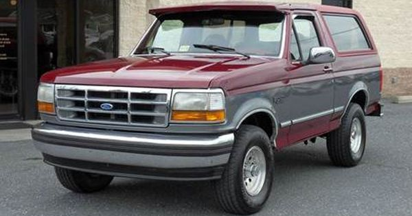1993 Ford Bronco For Sale In Harrisonburg Va