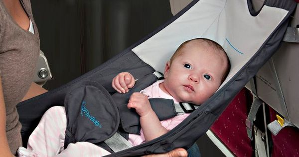 Who knew this existed! Flyebaby Airplane Baby Seat by Easy Travel Collection-Safe