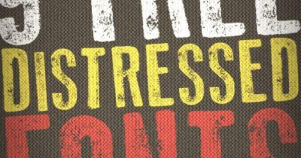 9 Killer Distressed Fonts For Designers Free Design Resources
