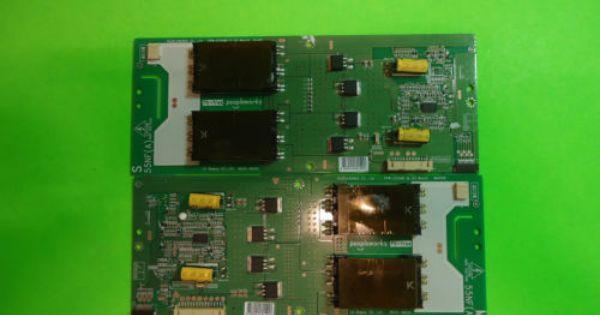 Vizio E551vl E550vl Backlight Inverter Board Non Working 6632l 0613a 6632l 0614a Vizio Logic Board Electronics