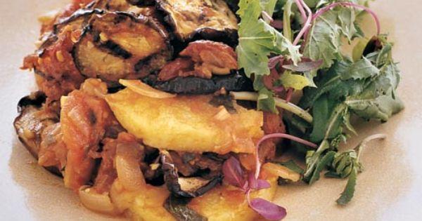 Layered Eggplant and Polenta Casserole | Recipe | Polenta ...