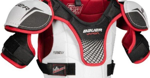 Bauer Vapor Lil Rookie Youth Hockey Shoulder Pads Medium 30 Hockey Shoulder Pads Shoulder Pads Hockey