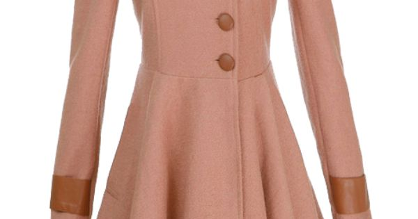 Pink Woolen Coat, I love this so much!