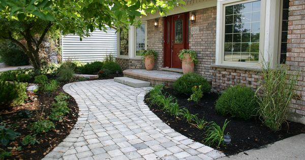 Landscaping Ideas East : Nice walkway ideas for plants landscape east