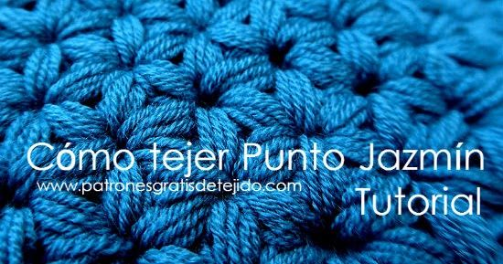 Video Con Paso A Paso Como Tejer Punto Jazmin Al Crochet Crochet Books Crochet Lessons Crochet Symbols