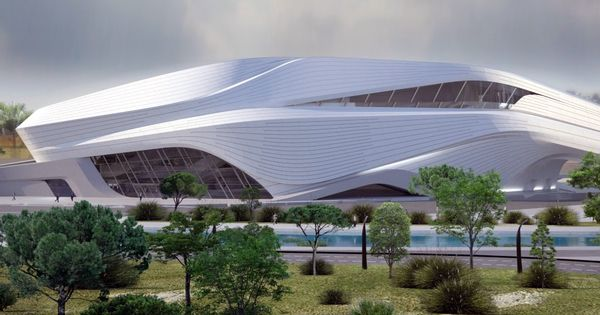 Grand Théâtre de Rabat Maroc Future Architecture: http