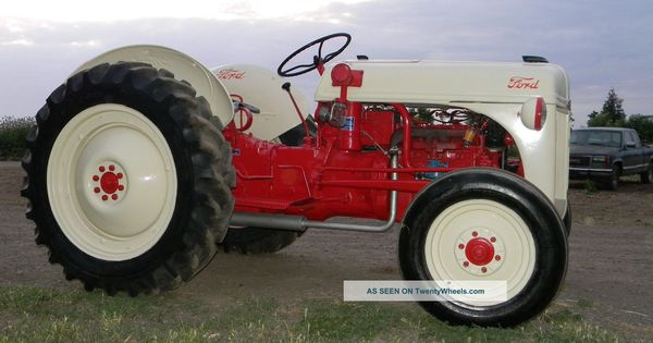 Restored Ford 9n : Ford tractors s restored n tractor