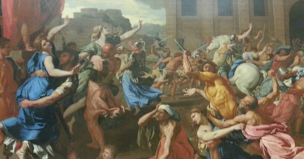 sabine women essay Your essay should be at least 6 paragraphs and should follow the structure below: the sabine women or venus and psyche, david io and zeus, correggio.