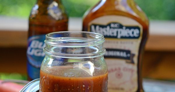 An easy mop sauce for grilled or smoked chicken that I learned from a ...