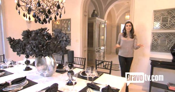 Dining Room Rhoc Heather Dubrow For The Home