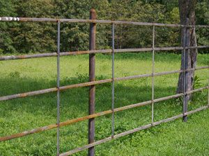 Continuous Fence Fence Fence Panels Horse Fencing