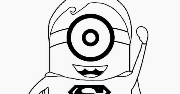 Childrens Film Free Minion Clipart Cartoon Superhero