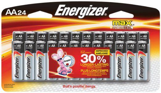 3 Energizer Max Aa Batteries Energizer Batteries Alkaline Battery