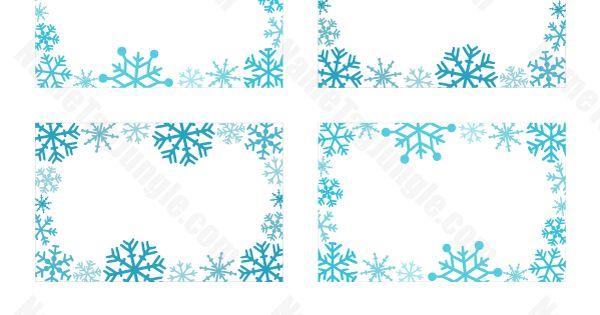 printable snowflake name tags  download them at