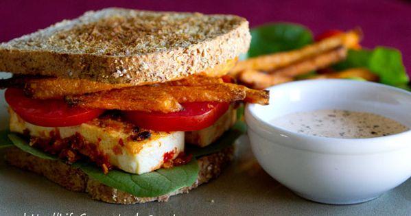 Crispy tofu, Tofu sandwich and Tofu on Pinterest