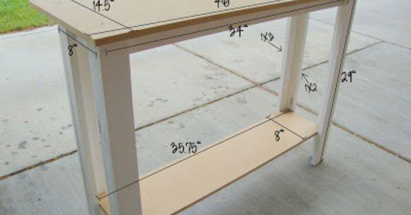 Bumble Briar Boutique Measurements For Sofa Table Diy Sofa Table Diy Sofa Diy Console Table