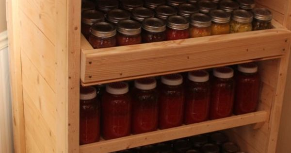 Pallet Canning Pantry 15 Cool Things To Make With Pallets