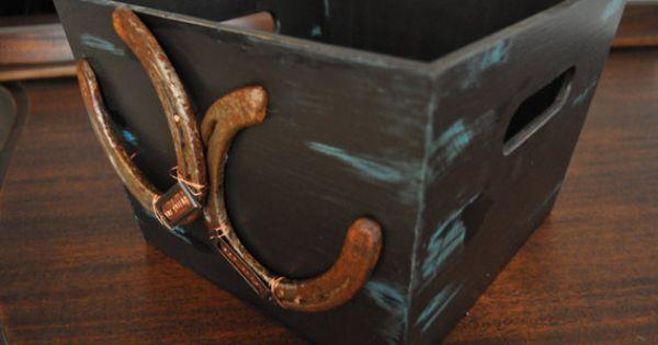 Wedding Magazine Subscription Gift: Personalized Wedding Card Box Or Magazine Box Rustic