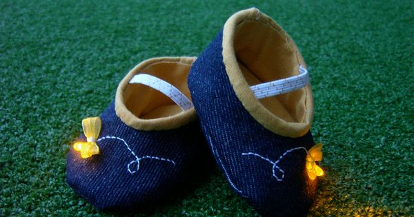 Cute Baby shoes tutorial!